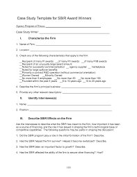 4 case study template an assessment of the small business