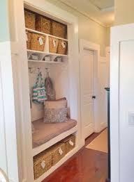 front hall closet into mini mudroom hall closet mudroom and minis