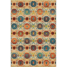 Bright Colored Area Rugs Orian Rugs Watercolor Scroll Multi 7 Ft 10 In X 10 Ft 10 In