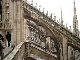 flying buttresses milan cathedral architectural design
