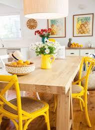 Yellow Retro Kitchen Chairs - best 25 yellow kitchen tables ideas on pinterest redoing