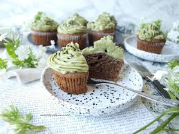 sesame cupcakes sweetstyledhome black sesame cupcakes with matcha frosting