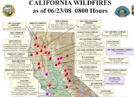 Fire In Los Angeles Today Map by California Wildfire Map California Map