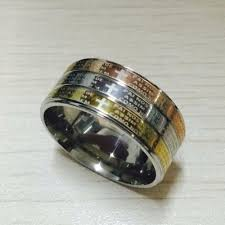 popular cheap gold rings for men buy cheap never fading silver gold color engagement men ring textured