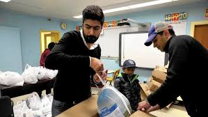 chicago muslims give 5000 thanksgiving turkey about islam