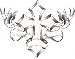 cross with dove dove and cross clipart clipart panda free