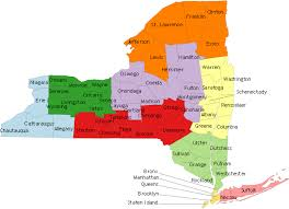 map of new your nys occupational health clinic network