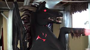 halloween horse demon horse halloween prop youtube