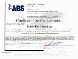 bureau of shipping abs abs bureau of shipping 2016 certification burner