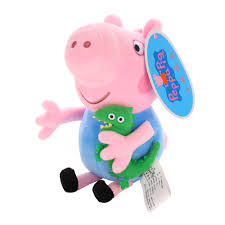 Peppa Pig Plush Peppa Pig Stuffed Plush Toys 19 30cm Chadstore Co Uk