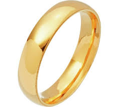 4mm ring buy revere 9ct gold court shape wedding ring 4mm at argos co uk