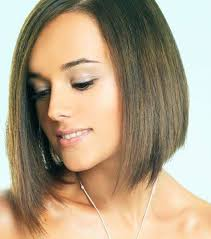 short layered bob hairstyles applied for straight hair short