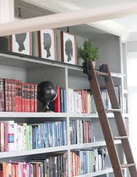 Bookcase With Ladder Rolling Library Ladder Custom Service Hardware Sincerely Sara D