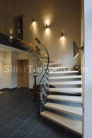 photos hgtv modern entryway with floating stairs and glass floor