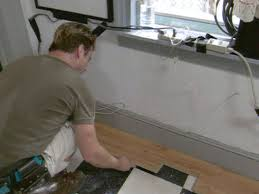 Where To Start Laying Laminate Flooring In A Room How To Install Laminate Flooring Hgtv