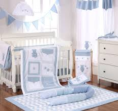 Bedding Sets For Nursery by Baby Bedding Sets Blue Bear All Star Baby Bedding Crib 4 Piece Set