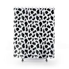 Leopard Print Shower Curtain by