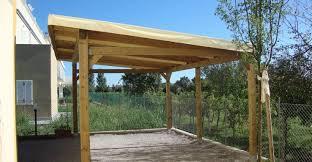 preventivo tettoia in legno carport in legno prezzi id礬es de design d int礬rieur