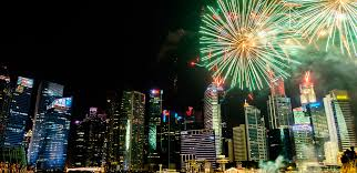 free fireworks in singapore where to go for nye 2017