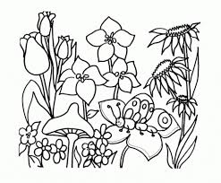 flower garden coloring pages regarding invigorate in coloring