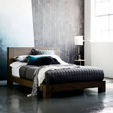 Gray Platform Bed Massaro Platform Bed West Elm