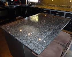 Tile Counters Deep Blue Pearl Granite Granite Tile Countertop For Kitchen