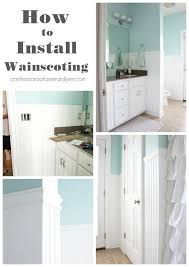 Install Wainscoting Over Drywall How To Install Wainscoting Confessions Of A Serial Do It Yourselfer