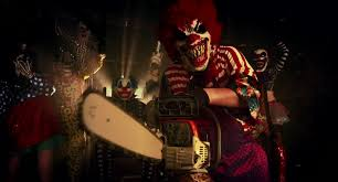 top creepy clowns birthday party anyone horror party horror clowns the scary clown standing in the midst