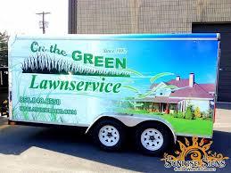 Landscaping Advertising Ideas Trailer Graphics U0026 Wraps Idea Gallery Sunrise Signs