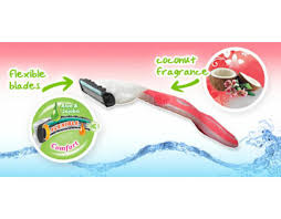 Wilkinson Sword Kitchen Knives Sword 70007170 Women Xtreme 3 Beauty Coconut Dream Disposable Razor 4s