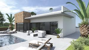 Salle A Manger Style Colonial by Villa De Style Moderne U2013 Modern Style Villa On A Big Plot