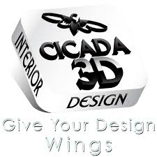 interior design logo home cicada 3d interior design