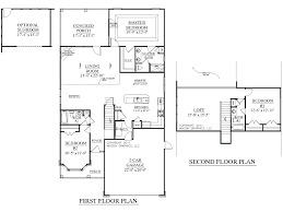 house plan dawson floor traditional story 3 bedroom open plansopen
