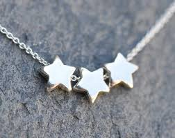silver star necklace pendant images Best friend star necklace graduation gift tiny sterling jpg