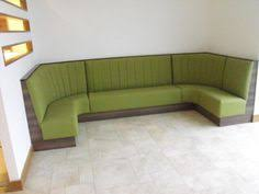 custom home corner residential commercial dining booth banquette
