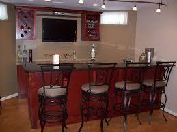 Metal Bar Cabinet Furniture Semi Circle Dark Brown Wooden Bar Cabinet With Black