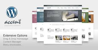 accent box clean wp theme for business portfolio of the company