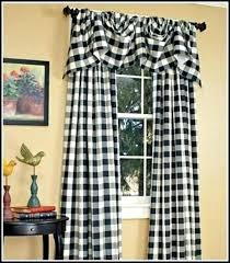 Black And White Checkered Curtains Black And White Checked Curtains Gingham Curtains Black White