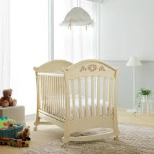 Pali Drop Side Crib Baby Cot By Pali Available In White Colour Provides A Modern And