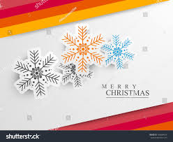 merry christmas celebration greeting card gift stock vector