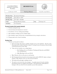 Meeting Minutes Notes Template by 8 Meeting Minute Template Job Resumes Word