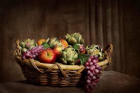 basket of fruit basket of fruit world photograph by trudy wilkerson