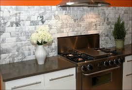 kitchen faux brick sheets tin backsplash ideas red brick veneer