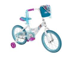 frozen power wheels sleigh girls 16 inch huffy disney frozen bike toys