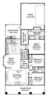 2500 Sq Ft Ranch Floor Plans Plan Of The Week Small Ranch Large Bungalow This Week We U0027re