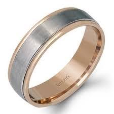 plain wedding rings simon g plain gold mens wedding bands lg142