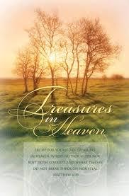 funeral bulletins funeral bulletin treasures in heaven booksofthebible
