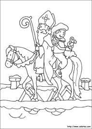 coloriage saint nicolas cadeaux coloring 2 craft
