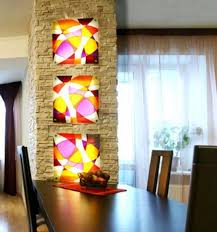 stained glass painting ideas bringing spectacular colors into
