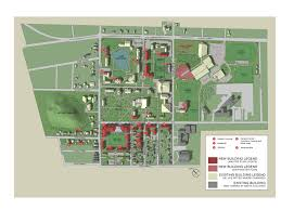 Colby College Campus Map Bates College Harriman